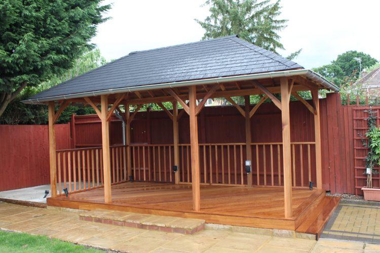 Infinity Carpentry & Building | Horley - Crawley & Gatwick Garden Iroko