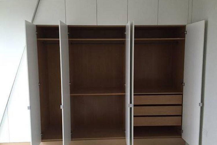 Infinity Carpentry and Construction - Building Company | Horley - Crawley - Gatwick - West Sussex New Build Fit Out Wardrobe 1