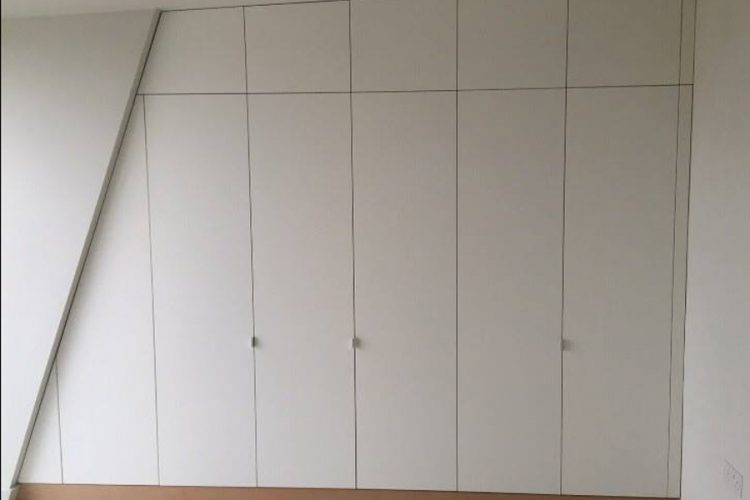 Infinity Carpentry and Construction - Building Company | Horley - Crawley - Gatwick - West Sussex New Build Fit Out Wardrobe 2