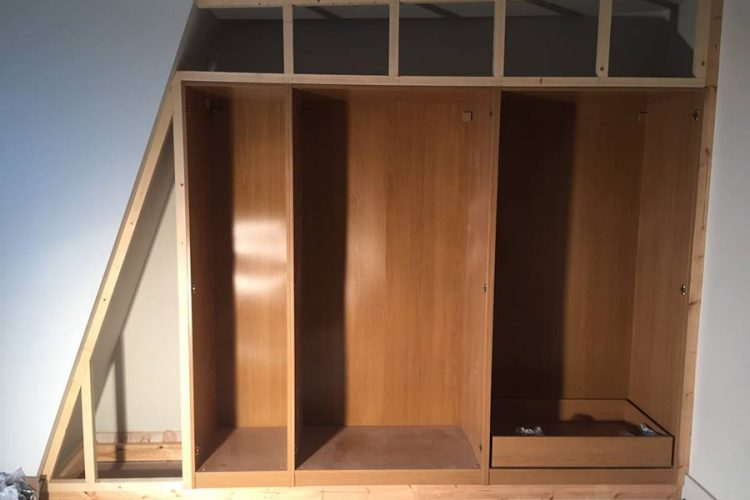 Infinity Carpentry and Construction - Building Company | Horley - Crawley - Gatwick - West Sussex New Build Fit Out Wardrobe 4